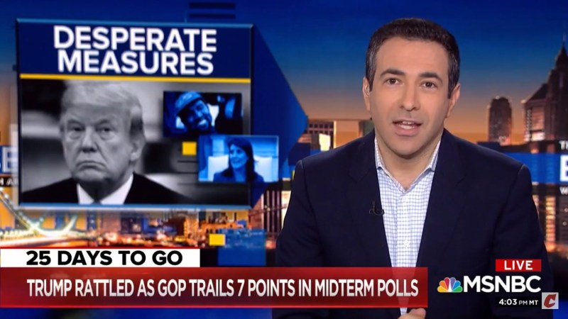 MSNBC's Ari Melber: 'Not Trying' To Make Hannity Look Bad, 'He's Doing That All By Himself'