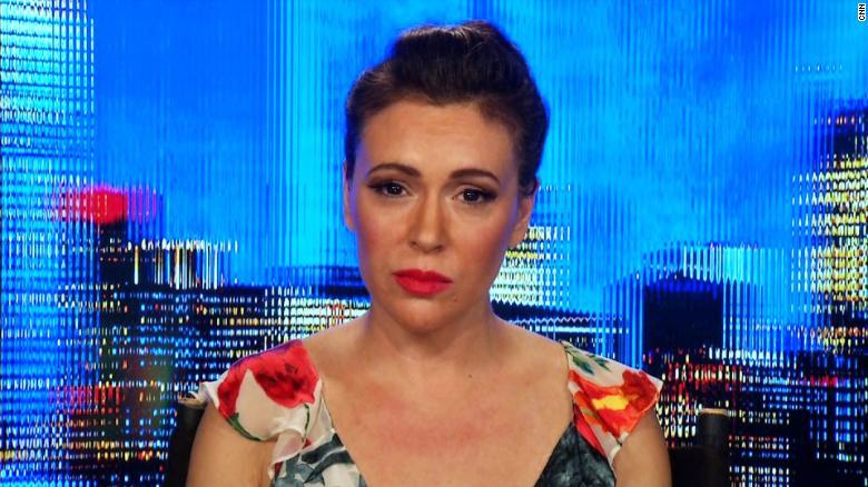 Alyssa Milano: I Could Feel Brett Kavanaugh's Rage At His Hearing