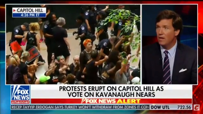 Tucker Carlson: Protesters Aren't 'Children Of The Working Class,' They're 'Kids Of Orthodontists'