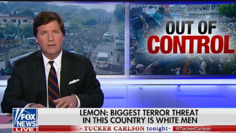 Tucker Warns That Don Lemon Is Advocating For 'Deportation' And 'Internment' Of White Men