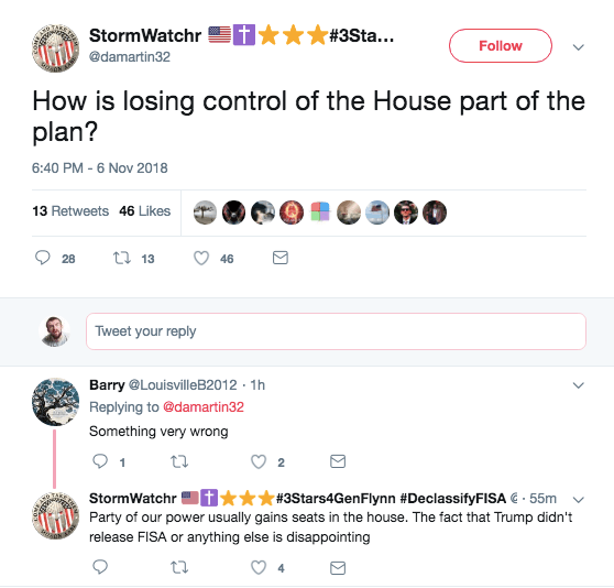 QAnon Believers Melt Down After The Midterm Election 'Red Tsunami