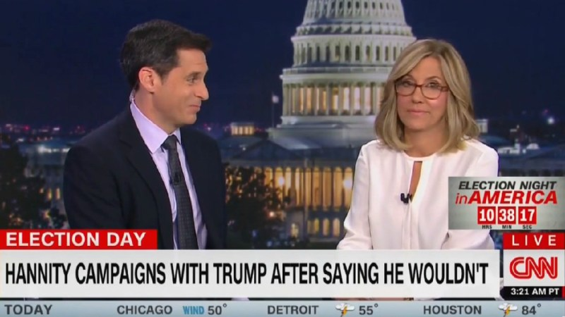Ex-Fox News Anchor Alisyn Camerota Tears Into Hannity For Campaigning With Trump