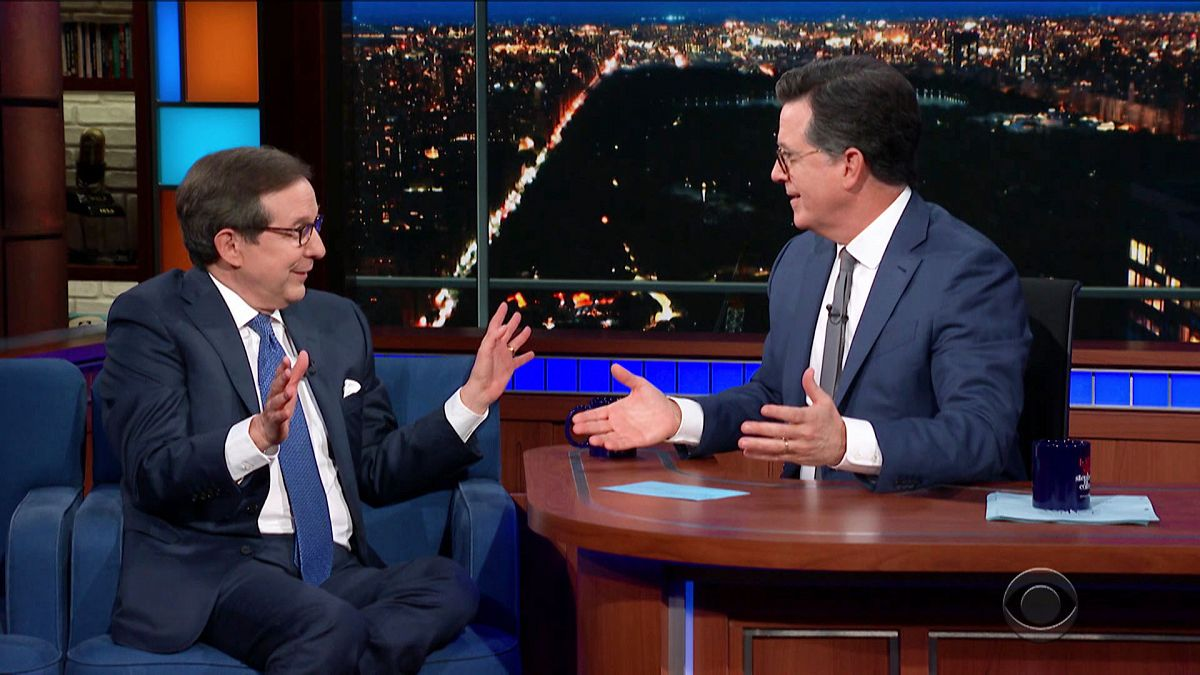 WATCH: Stephen Colbert Confronts Fox's Chris Wallace For Lying About Immigration