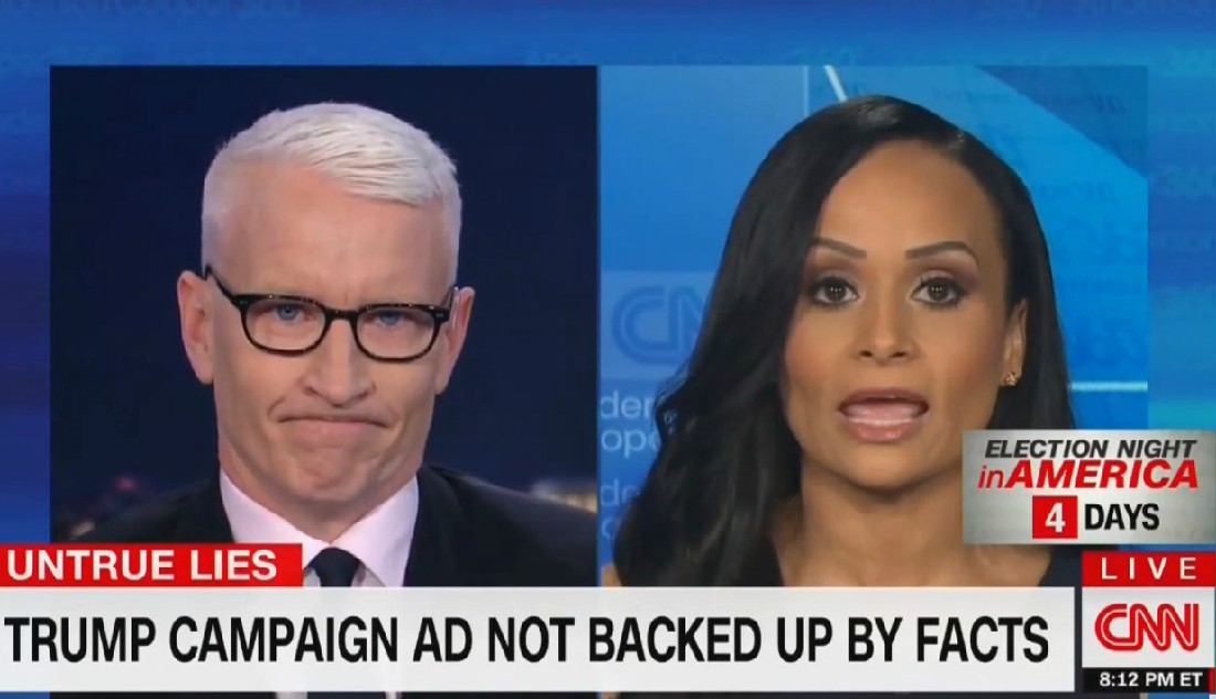 An Exasperated Anderson Cooper Wonders Why Katrina Pierson Has 'To Lie All The Time'