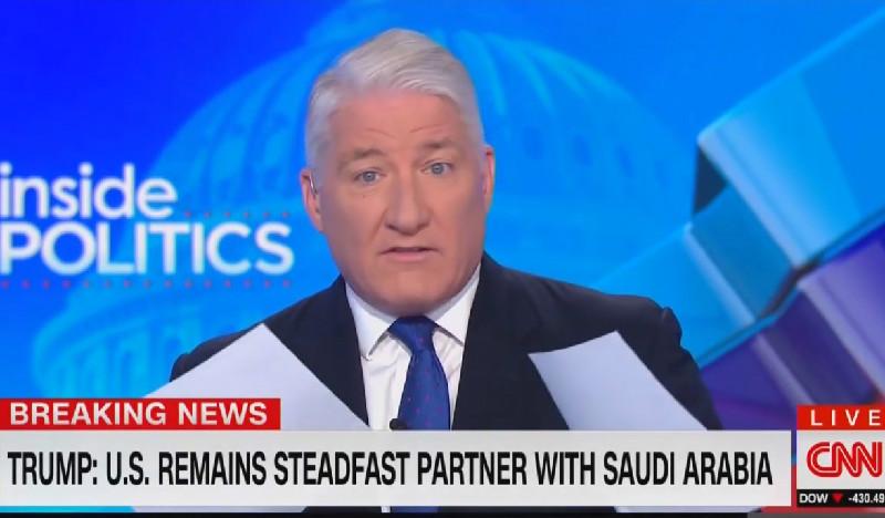 CNN's John King: Trump Just Gave A 'Presidential Pass To The Crown Prince' On Khashoggi's Murder
