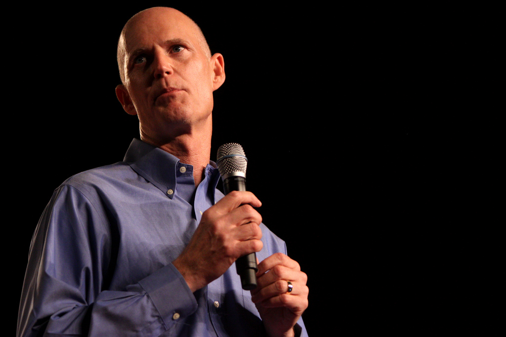 Rick Scott: Hillary Clinton's Lawyer Is Trying To Steal My Senate Seat