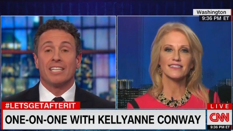 Kellyanne Conway Claims Chris Cuomo Used A 'Slur' By Saying Trump Doesn't Tell The Truth