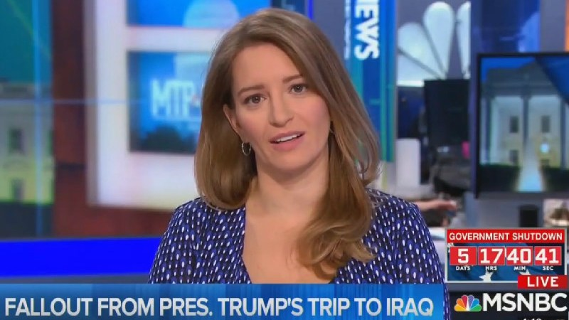 'God, He's Just Full Of It!' Katy Tur Shreds Trump For Lying About Military Pay Raises