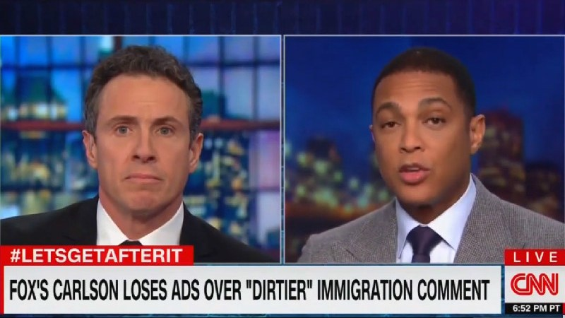 Cuomo And Lemon Trash Tucker's 'Hateful Speech': 'Is He Really Talking About Human Beings That Way?'