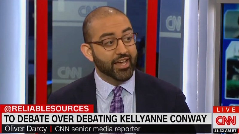 CNN's Oliver Darcy Criticizes Cuomo-Kellyanne Interview: 'Not Sure What Purpose That Serves The Viewer'