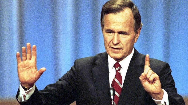 Former President George H.W. Bush Dies: His Career Spanned Nixon, Reagan And Saddam Hussein