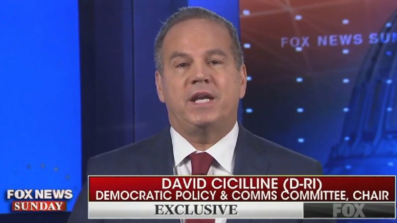Rep. David Cicilline: Republicans 'Clutching Their Pearls' Over Tlaib's Language But Not Trump's