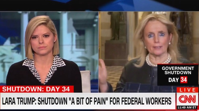 'Let Them Eat Cake': Rep. Debbie Dingell Shreds Lara Trump And Wilbur Ross Over Shutdown Remarks