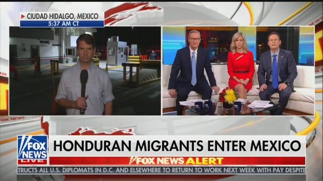 Fox & Friends Largely Ignores Michael Cohen Story, Covers 'Migrant Caravan' Instead