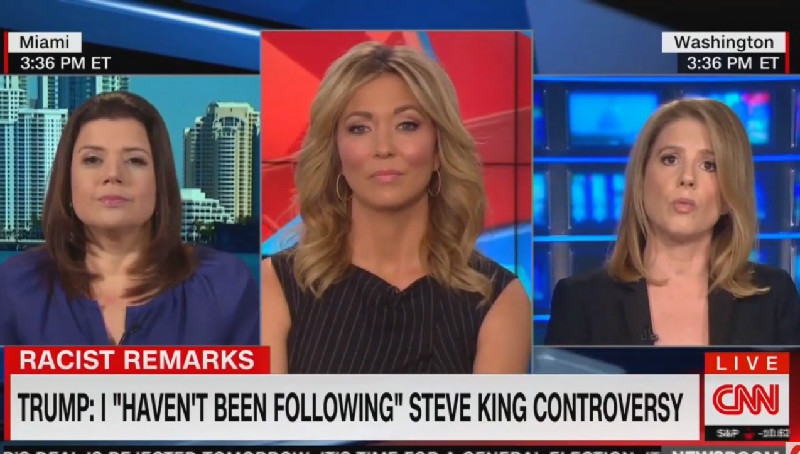 CNN's Kirsten Powers: 'There's Not That Much Difference' Between Steve King And Trump