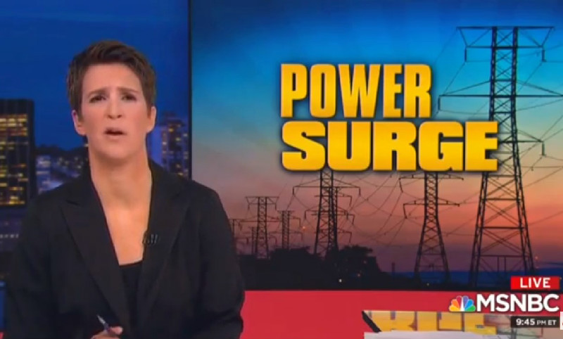 Maddow Accused Of Fearmongering For Segment On Hypothetical Russian Attack On Power Grid