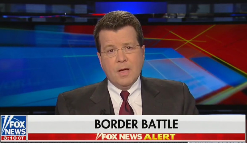 Fox News' Neil Cavuto: Trump Was 'Constantly Saying The Mexicans Were Going To Pay' For The Wall