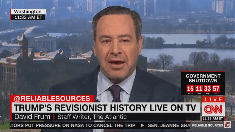 David Frum: 'Is Vladimir Putin Another Sean Hannity' And Giving Trump Misinformation Over The Phone?