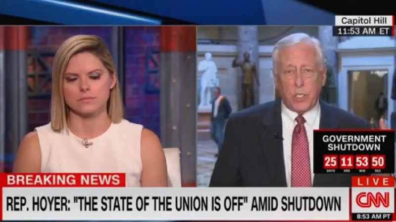 House Majority Leader Steny Hoyer: 'The State Of The Union Is Off'