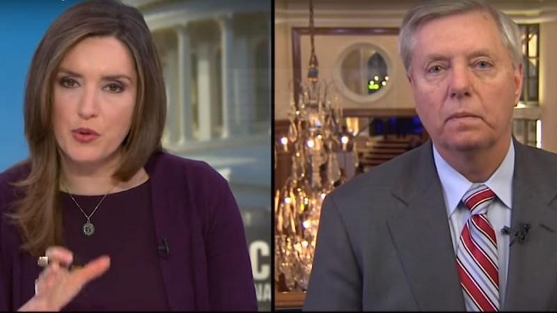 Lindsey Graham's False Talking Points Go Unchallenged by CBS News' Margaret Brennan