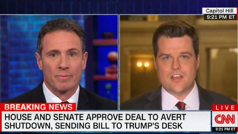 Rep. Matt Gaetz: It's 'Good' That Trump and Hannity 'Bounce Ideas Off Each Other' on Policy