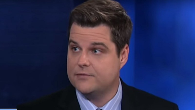 Gaetz Tweet About Michael Cohen Lands Him in a World of Legal and Professional Trouble