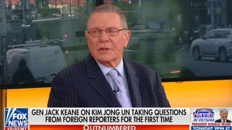 Fox News Analyst: Trump and Kim Jong Un Enjoy a 'Father-Son Relationship'