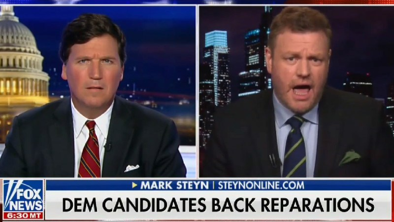 Tucker Carlson Guest Tells African-Americans to 'Move On' From Slavery, Calls Reparations 'Absurd'