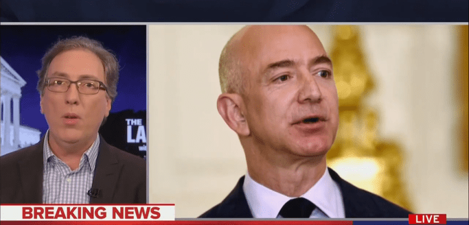 Washington Post Reporter: A 'Government Entity' May Have Gotten Jeff Bezos' Text Messages