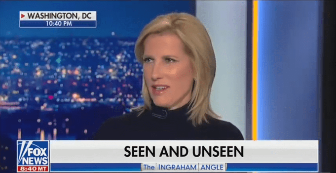 Fox's Laura Ingraham and Guest Defend John Wayne Saying 'I Believe In White Supremacy'