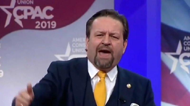 Seb Gorka Warns CPAC That Democrats 'Want to Take Away Your Hamburgers': Stalin Dreamed About This!
