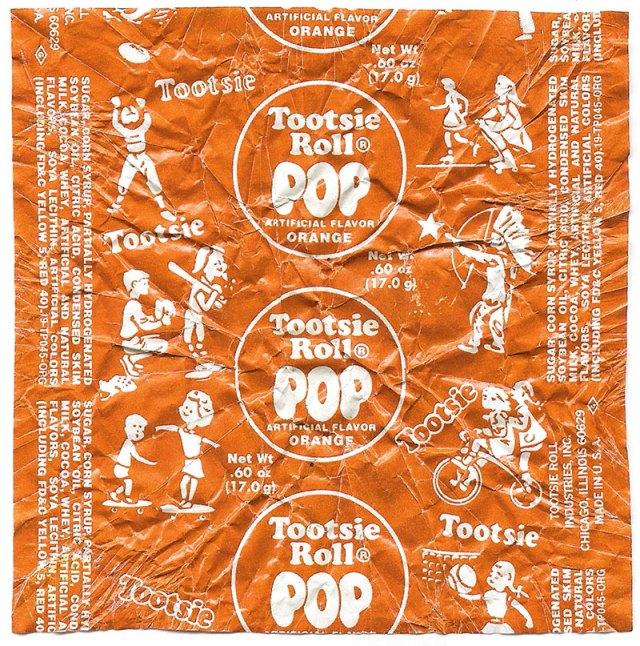 Tootsie Roll Wrapper