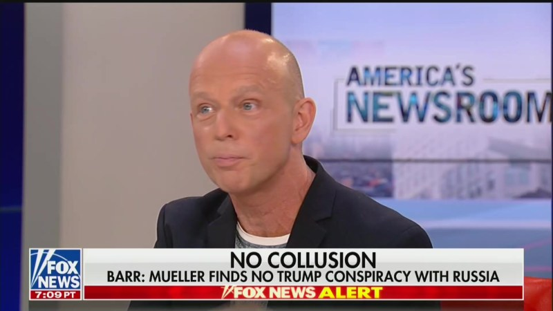 Fox News' Steve Hilton: MSNBC and CNN Are the 'Real Agents of Putin'
