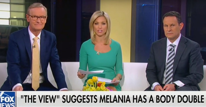 After Fox & Friends Slams The View Over #FakeMelania, Trump Claims Media Photoshopped Pictures of Her