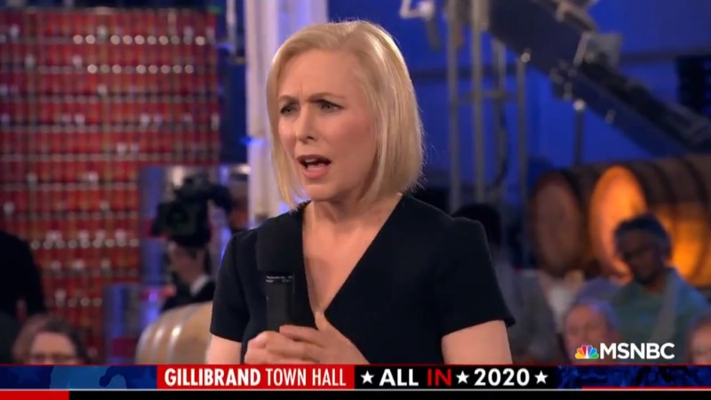 Kirsten Gillibrand's Town Hall Bombs For MSNBC, Places Last in Primetime Demo