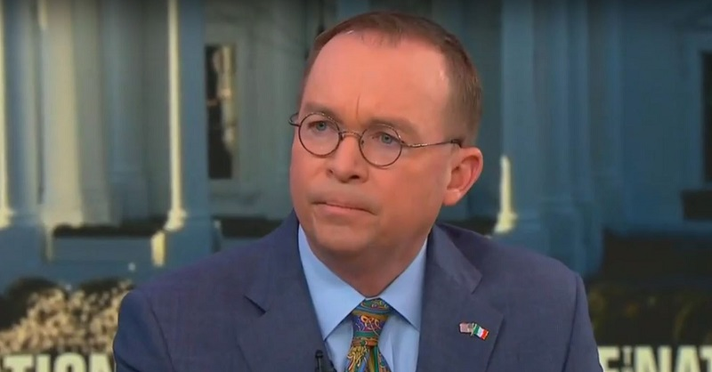 Mick Mulvaney Denies Trump Bears Any More Blame for New Zealand Massacre Than Mark Zuckerberg