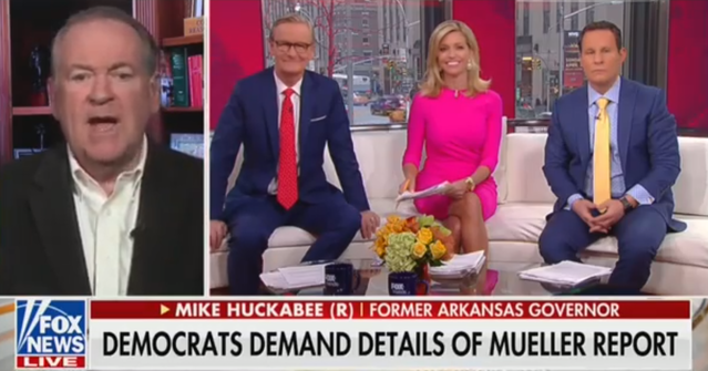 Mike Huckabee: We Must Investigate 'Attempted Coup d'État' Against Trump