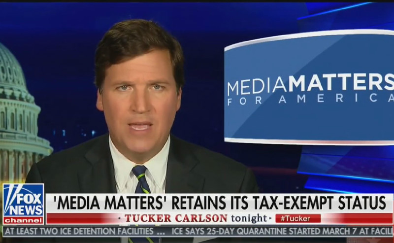 Tucker Carlson Runs No Ads From Blue Chip National Advertisers on Tuesday Night