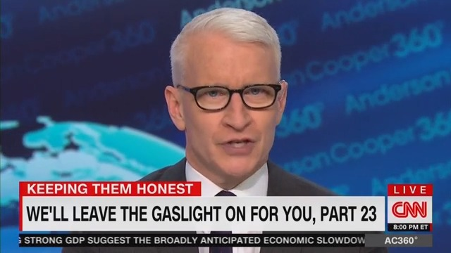Anderson Cooper Tears Into Trump for Doubling Down on His Charlottesville Remarks