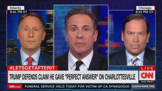 Trump-Supporting CNN Pundit Steve Cortes: 'No Difference' Between 'Neo-Nazis and Antifa'
