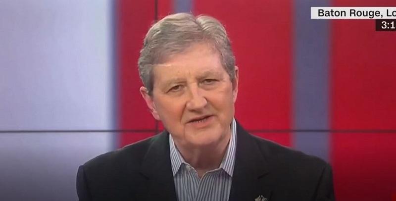Republican Senator John Kennedy Gets Salty Over Democrats' Request for Trump's Taxes