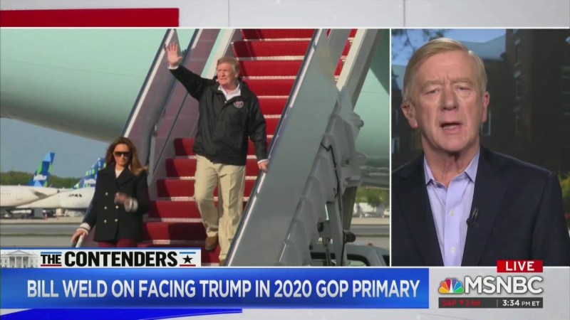 Bill Weld: Only Thing I Have in Common With Trump Is We're Both 'Big Orange Men'