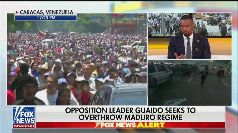 Fox News Contributor: Venezuelan Military Vehicles Running Over Protesters Is 'Result of Socialism'