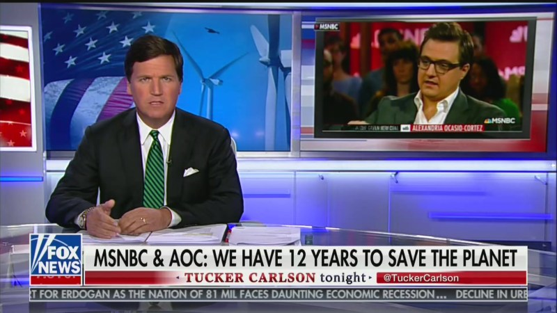 Tucker Carlson: 'Chris Hayes Is What Every Man Would Be If Feminists' Had Absolute Power