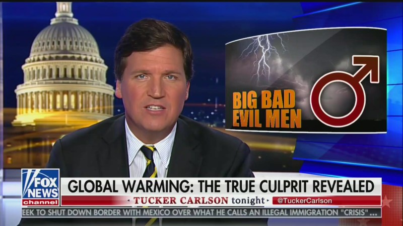 Tucker Carlson: 'How Did We Wind Up With a Country in Which Feminists Do Science?'