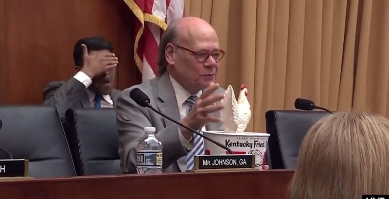 Rep. Steve Cohen Mocks Barr's No-Show By Bringing KFC and Toy Chicken to Hearing