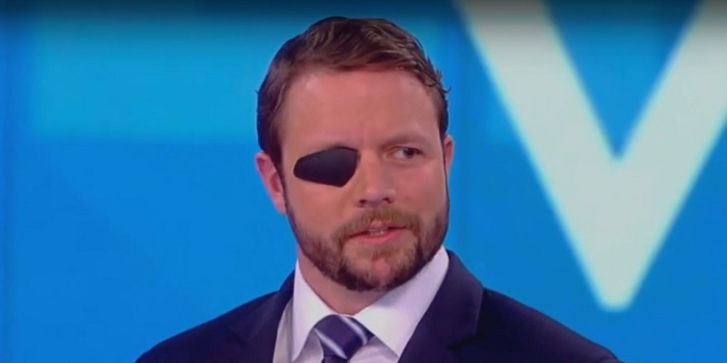 The View Challenges Dan Crenshaw for Defending Trump on Charlottesville: 'Why Do You Apologize for Him?'