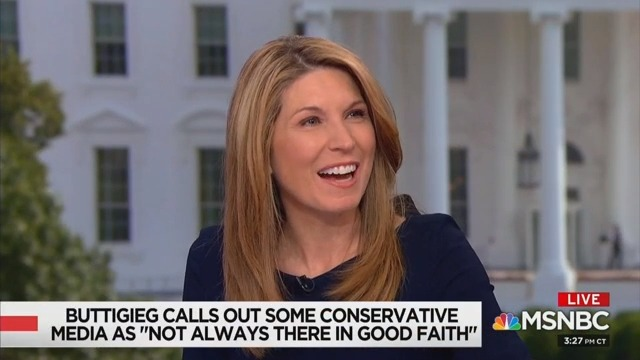 'What a Flipping Loser!' Nicolle Wallace Shreds Trump for Whining About Mayor Pete and Chris Wallace
