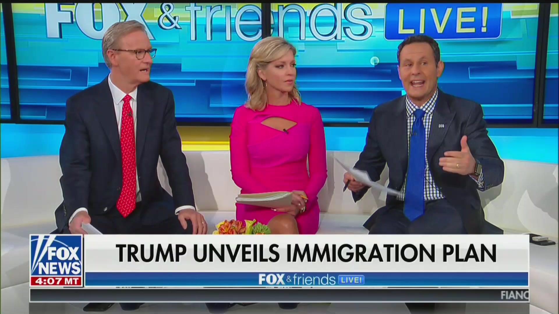 Fox & Friends' Brian Kilmeade: Crisis at Border Is 'Almost Like' 9/11