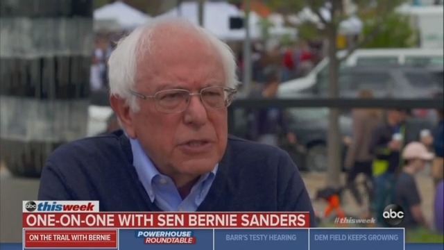 Bernie Sanders: It's 'Premature' and 'Silly' to Consider a Person of Color as My Running Mate
